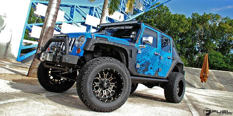 Jeep Wrangler Crush - D268