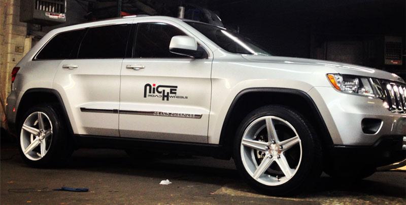 Jeep Grand Cherokee Apex M126 Gallery Mht Wheels Inc