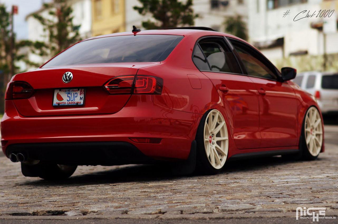 Volkswagen Jetta Essen - M146 Gallery - MHT Wheels Inc.