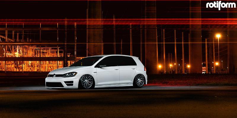Volkswagen GTI Rotiform RSE - Cast 1 piece