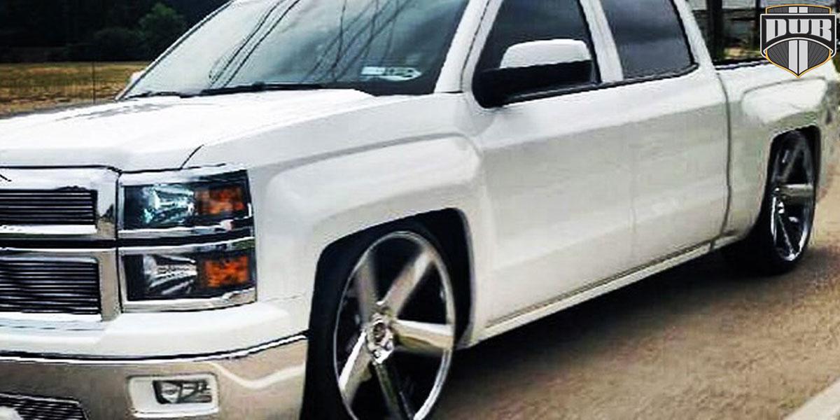 Chevrolet Silverado 1500 HD Baller - S116 Gallery - MHT Wheels Inc.