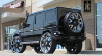 Bandito - S136 on Mercedes-Benz G-Wagon