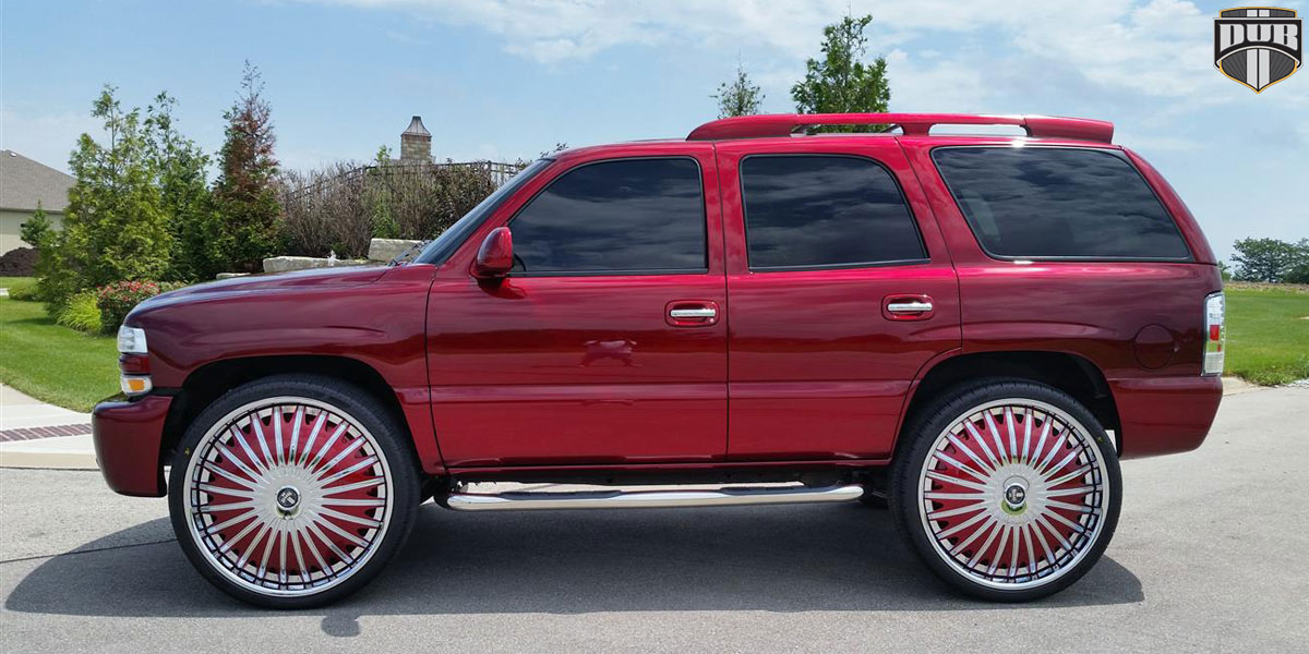 Chevrolet Tahoe S723-Boogee Gallery - MHT Wheels Inc.