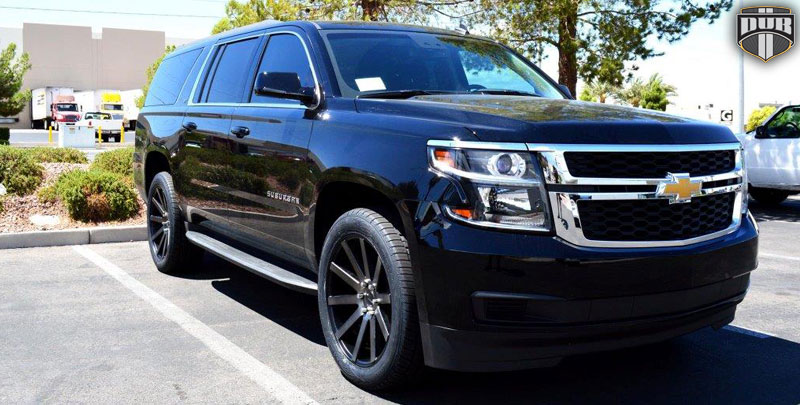 Chevrolet Suburban Shot Calla - S121 Gallery - MHT Wheels Inc.