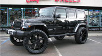Push - S110 on Jeep Wrangler