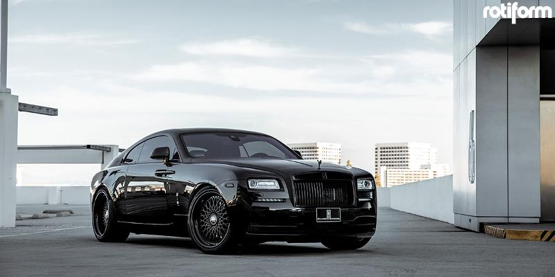 Rolls-Royce Wraith Rotiform LHR