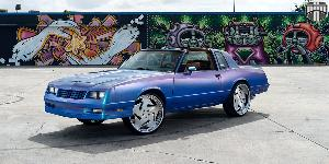 Victorio - X105 on Chevrolet Monte Carlo