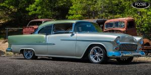 Knuckle - F099 on Chevrolet Bel Air