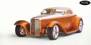 Knuckle - F227 on Ford Roadster