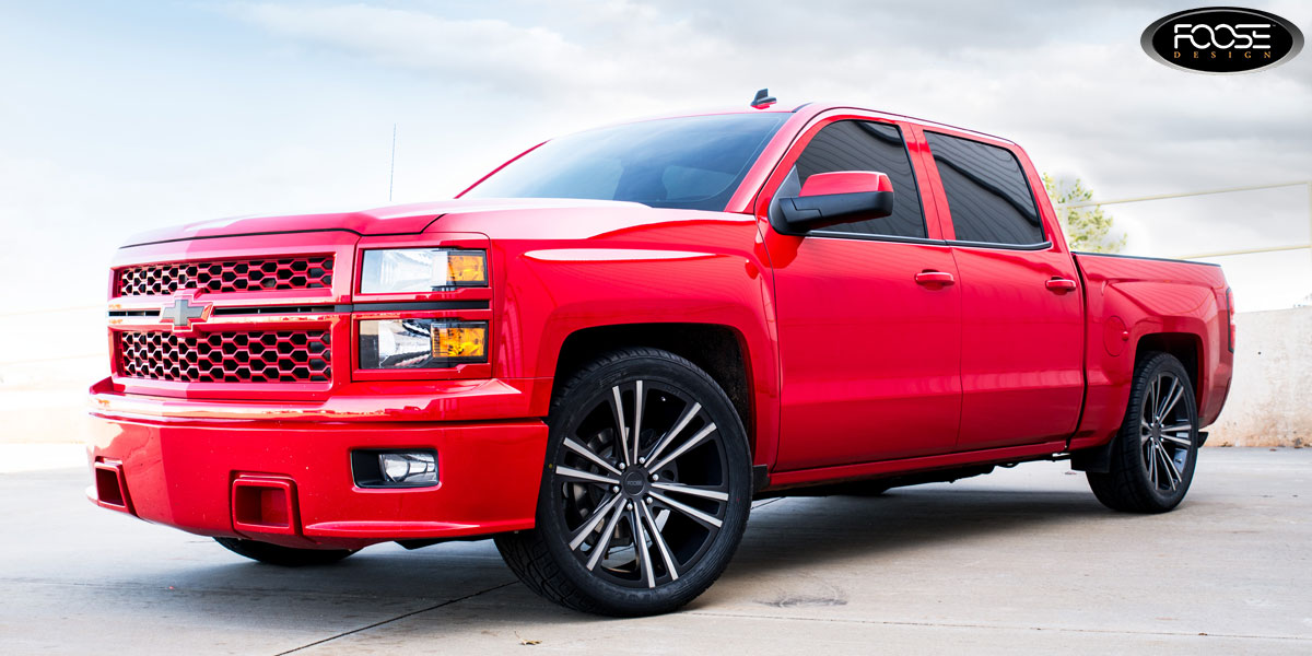 Chevrolet Silverado Wedge - F160 Gallery - MHT Wheels Inc.