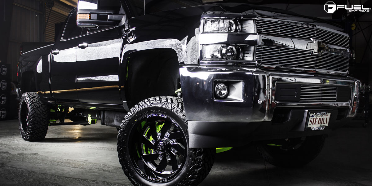 rotiform us mags tires steering wheels gallery vehicle wheel news ...: www.mhtwheels.com/chevrolet-silverado-2500-fuel-turbo-d582-g-20521.htm