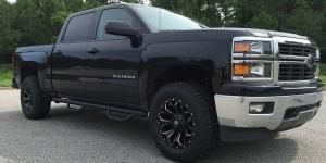 Assault - D546 on Chevrolet Silverado 1500 HD