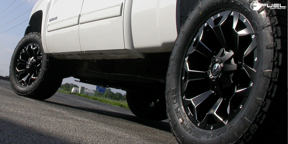 Chevrolet Silverado 2500 HD Assault - D546 Gallery - MHT Wheels Inc.
