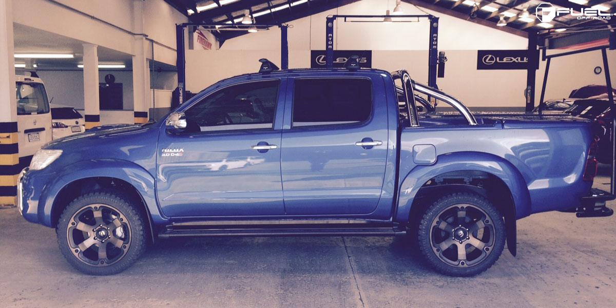 Toyota Hilux Beast - D564 Gallery - MHT Wheels Inc.