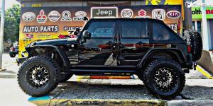 Crush - D268 on Jeep Wrangler