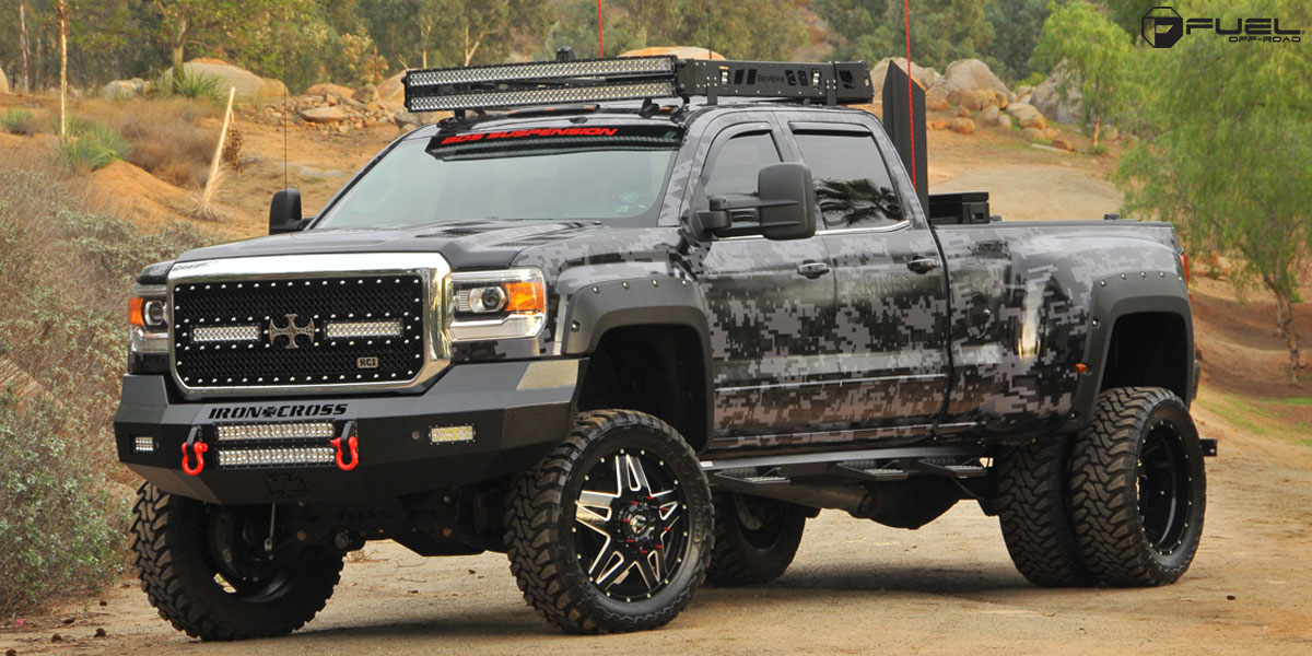 Chevrolet Silverado 3500 HD Full Blown Dually Front - D254 Gallery ...