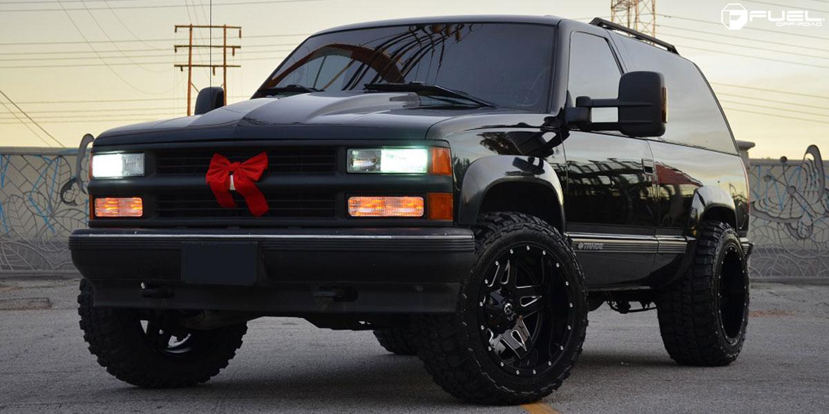 Chevrolet Tahoe Full Blown - D554 Gallery - MHT Wheels Inc.