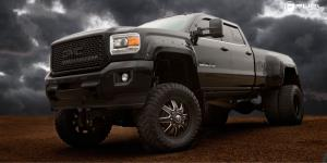 Maverick Dually Front - D538 on GMC Sierra 3500 HD