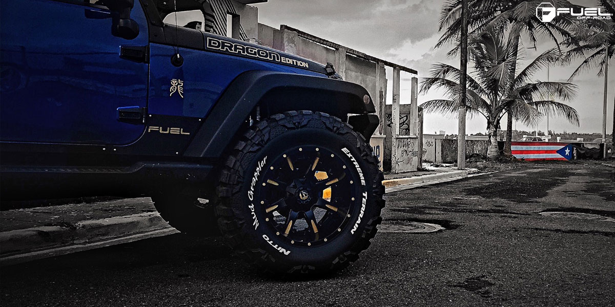 Jeep Wrangler Nutz D251 Gallery Mht Wheels Inc