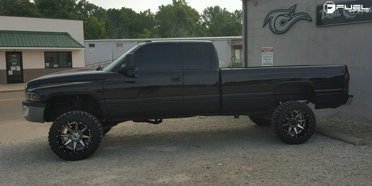 Dodge Ram 2500 Rampage D247 Gallery Mht Wheels Inc