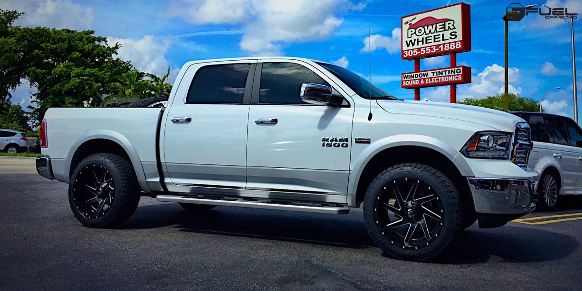Dodge Dealer Miami >> Dodge Ram 1500 Renegade - D265 Gallery - MHT Wheels Inc.