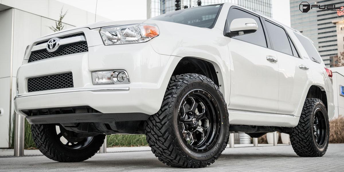 Toyota 4runner Savage D563 Gallery Mht Wheels Inc