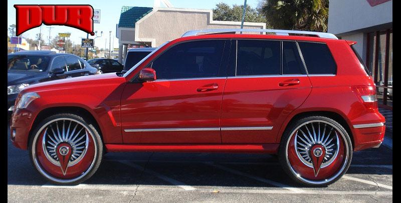 Mercedes-Benz GLK350 S602-Azzmacka Gallery - MHT Wheels Inc.