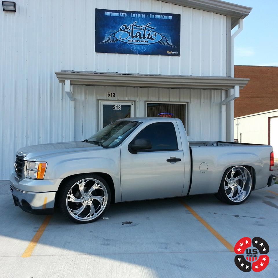Gmc 1500 >> GMC Sierra 1500 Cheyenne 6 - U450 Gallery - MHT Wheels Inc.