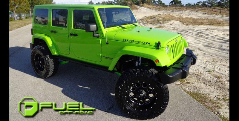 Jeep Rubicon Revolver D525 Gallery Mht Wheels Inc