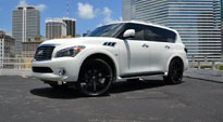 Push - S110 on Infiniti QX80