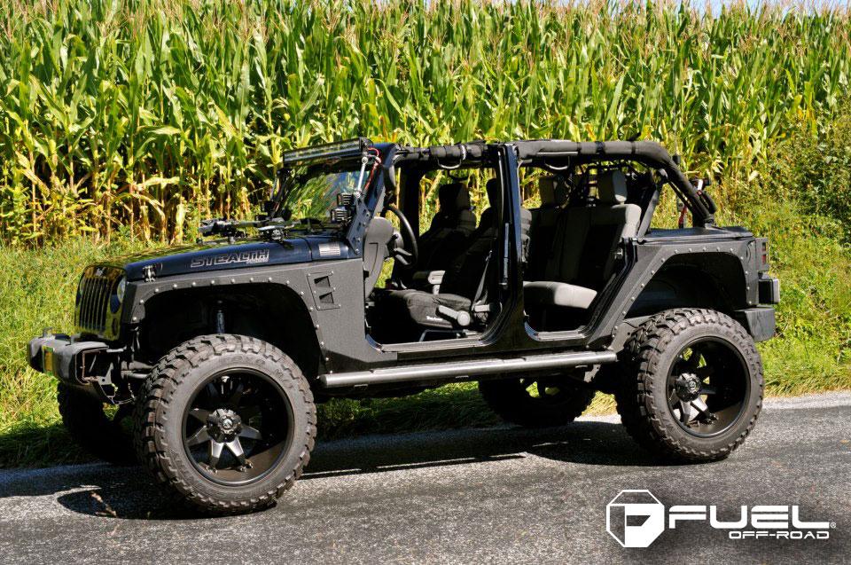 Jeep Wrangler Octane D509 Gallery Mht Wheels Inc