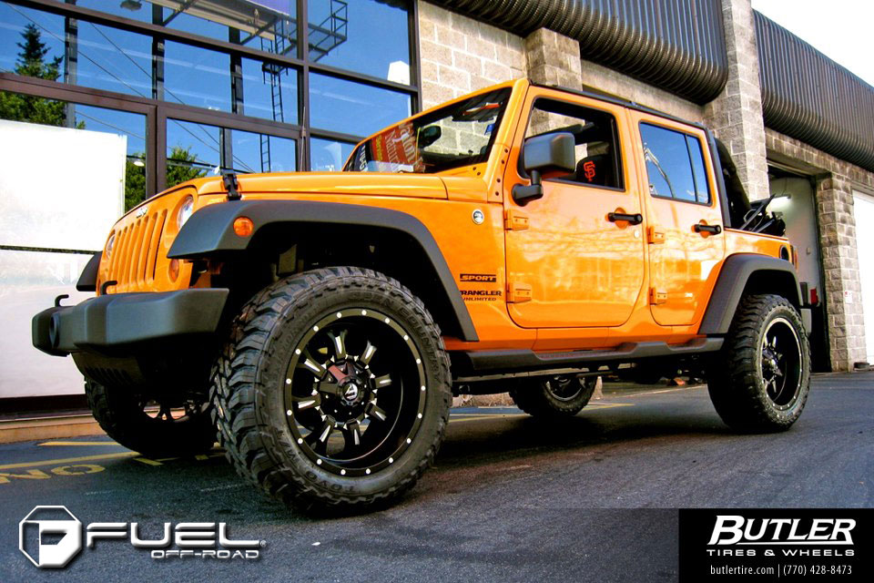 Jeep Wrangler Black Matte >> Jeep Wrangler Krank - D517 Gallery - MHT Wheels Inc.