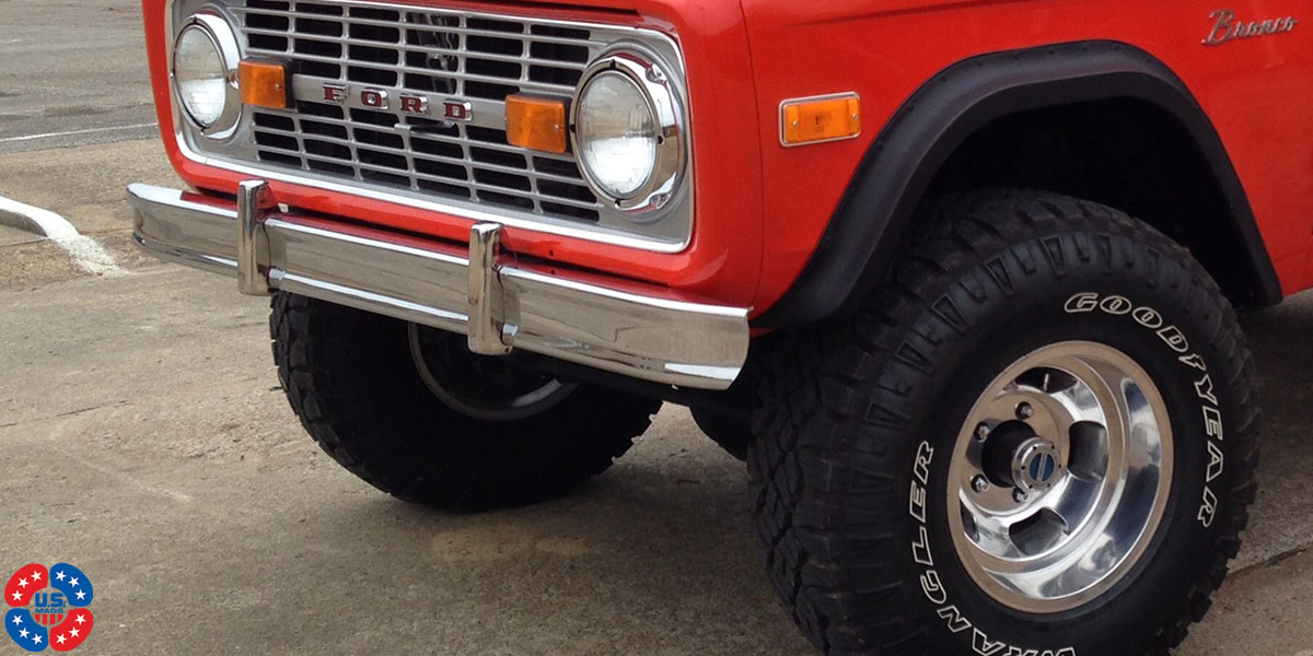 Ford Bronco Indy - U101 Truck Gallery - MHT Wheels Inc.