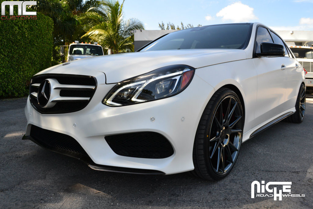 Mercedes benz e350 vicenza m154 gallery mht wheels inc for Black rims for mercedes benz e350