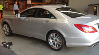 C15-Technic on Mercedes-Benz CLS63