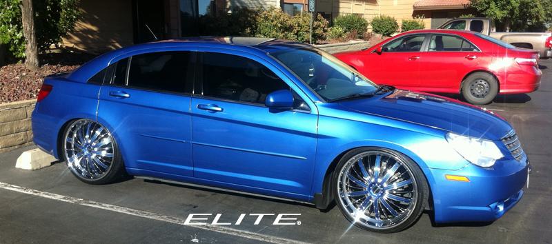 Chrysler 200 Tire Size >> Chrysler Sebring Monarch - W114 Gallery - MHT Wheels Inc.