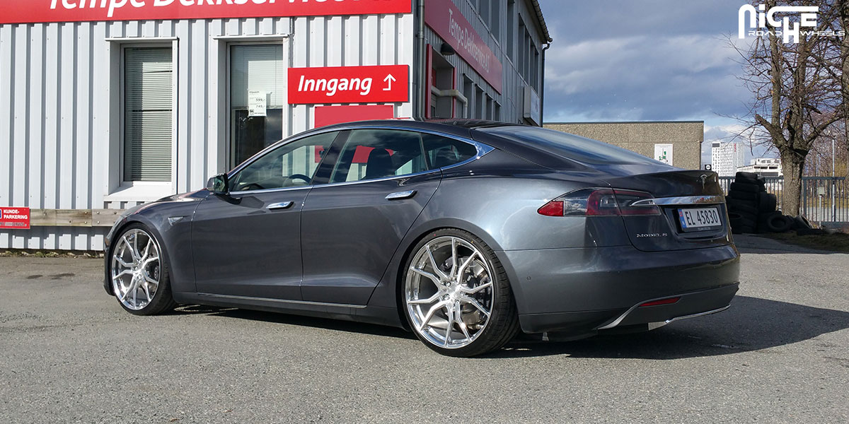 Tesla Model S Custom >> Tesla Model S Ascari Gallery - MHT Wheels Inc.