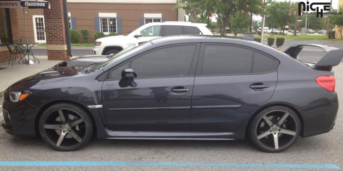 Subaru Wrx Sti Milan M134 Gallery Mht Wheels Inc