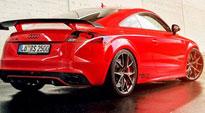 Misano on Audi TTRS
