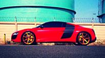 Scuderia 7 on Audi R8