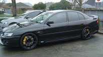 Targa on Holden VZ Clubsport