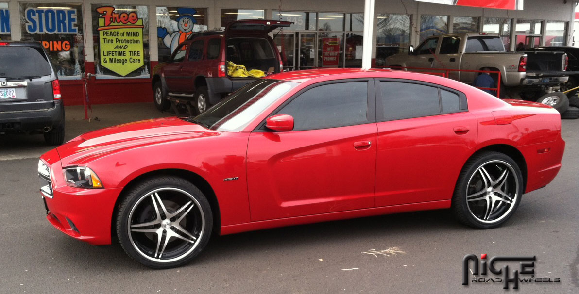 Dodge Charger Sportiva M205 Gallery Mht Wheels Inc