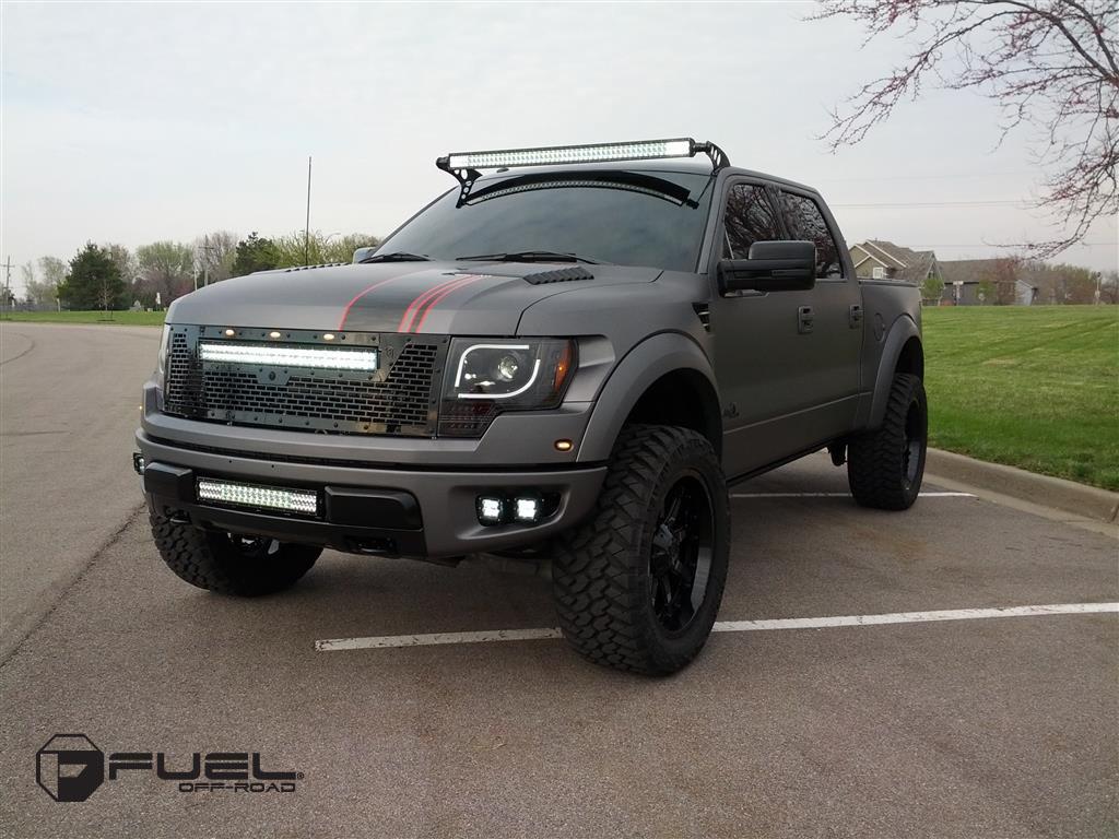Ford F 150 Raptor Nutz D252 Gallery Mht Wheels Inc
