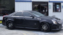 Targa on Cadillac CTS-V