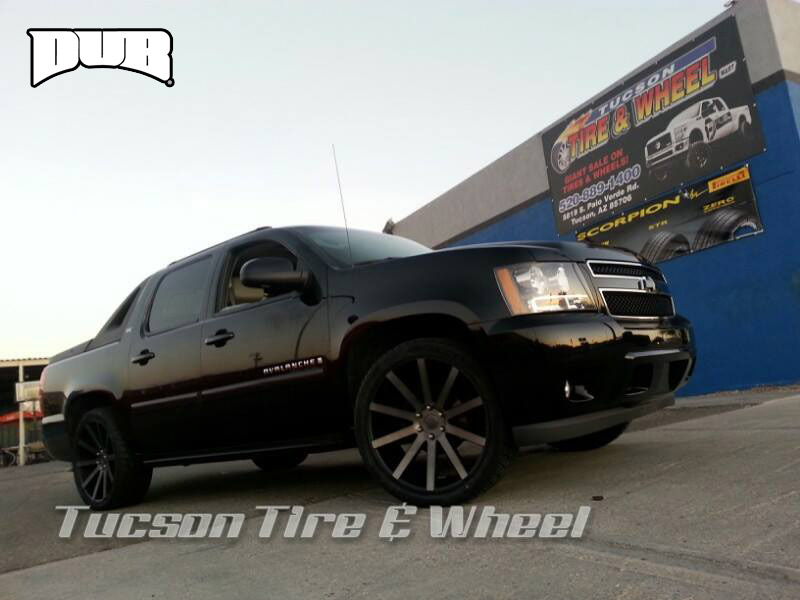 Chevrolet Avalanche Shot Calla - S121 Gallery - MHT Wheels Inc.