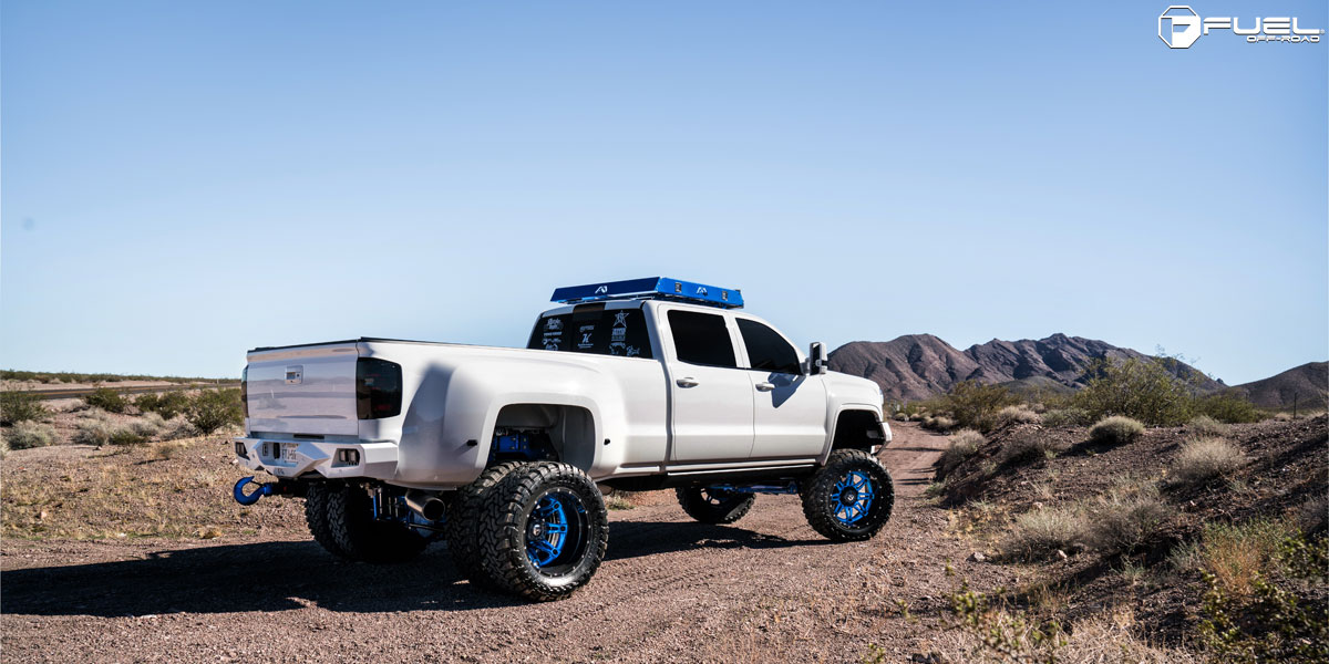 Gmc Sierra 2500 Hd Dual Rear Wheel Hostage Ii D232