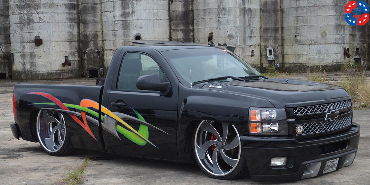 Custom 2017 F150 >> Chevrolet Silverado 1500 Desperado 6 - U472 Gallery - MHT Wheels Inc.