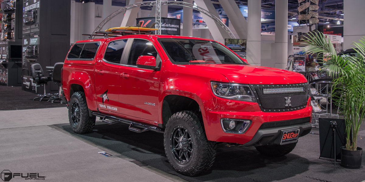 Chevrolet Colorado Hostage - D531 Gallery - MHT Wheels Inc.