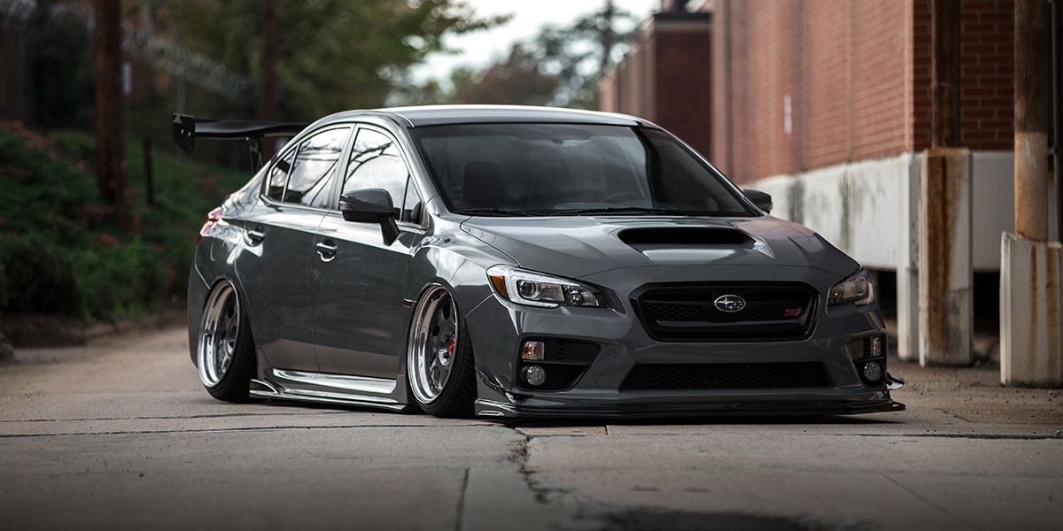 Subaru WRX STI BWE Gallery - MHT Wheels Inc.