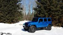 Trophy - D552 on Jeep Wrangler